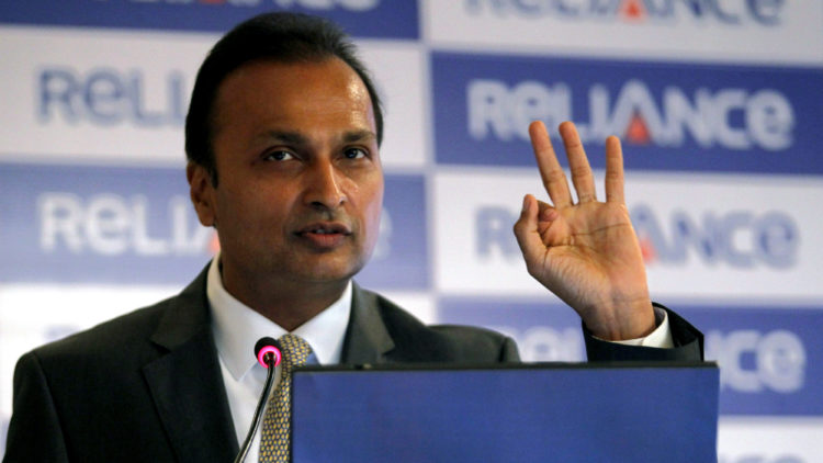 Anil Ambani Income